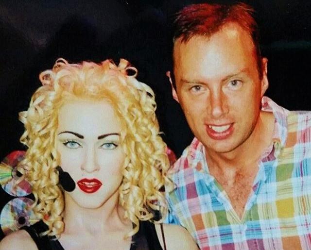 madonna and me.